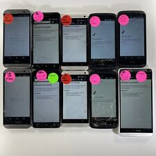Lot of 10 Mixed Cracked Glass HTC Phones Verizon Wireless *Check IMEI*