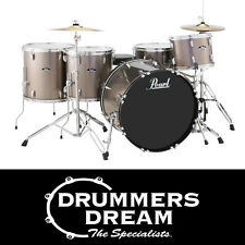"Pearl Roadshow Rock 5 Piece 22"" Drum Kit with Hardware & Cymbals Bronze Metallic"