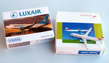 Schabak 1:600 ● LUXAIR Boeing 737-700 + AUSTRIAN Airbus A321 ● Metal scale 1/600