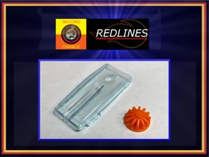 "1970 Hot Wheels Redline 'Whip Creamer w/Turbine"" Repo Windshield SCR-P6457T"