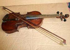 alt: Geige (Vorkrieg) mit Bogen - anschauen !!!