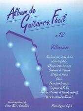 Album de Guitarra Facil: Villancicos Vol.12 by Oscar Nunez Caballero (paperback)
