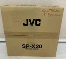 JVC SP-X20 Speaker Speakers Left Right Center Set New In Box *NICE*