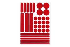 3M™ Stickerset 33teilig Aufkleber Sticker RA2 reflektierend selbstklebend rot