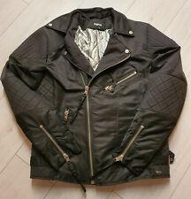 Tigha Herren Steppjacke im Bikerstil  Burk Black Size XL UVP: 229,90€