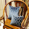 Luxury Embroidered Velvet Cushions Cover Pillow Case Textiles Lumbar Pillow Seat