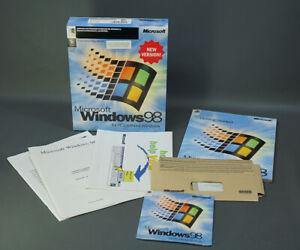 MICROSOFT WINDOWS 98 NEW VERSION OPERATING SYSTEM WIN 98 CD PRODCUT KEY MANUAL