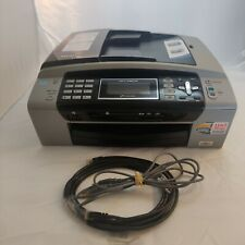 Brother MFC-490CW All-In-One Inkjet Printer Tested Ink Ethernet USB Cables Incl.