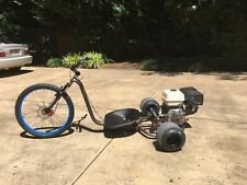 390cc Drift Trike  - Rat Rod themed with 13hp to really slide the rear!!