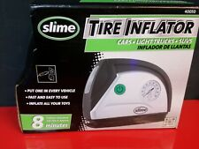 Slime 40050 12V Tire Inflator Portable Air Compressor Auto Pump