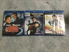 The Jackie Chan Blu-ray Collection + Rush Hour + Robin B Hood : 8 Blu-ray Movies