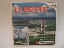 ViewMaster US Spaceport John Kennedy Center NASA 3 Reels Booklet  1969  B663 GAF