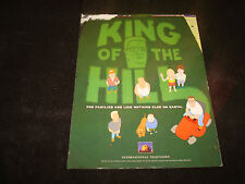 KING OF THE HILL Emmy ad Hank Hill mowing, Bobby, Peggy, Mike Judge, Ladybird