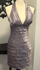 BCBG Maxazria  Prune/ Purple Cocktail Party Dress Size 4