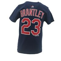 Cleveland Indians Official MLB Majestic Kids Youth Size Michael Brantley T-Shirt