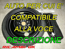 Kit Ruotino R14 Citroen C1-Hyundai i10-Toyota Aygo-Peugeot 107-108-KIA PICANTO