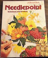 Needlepoint Techniques and Projects Illustrated Sunset Books 1977