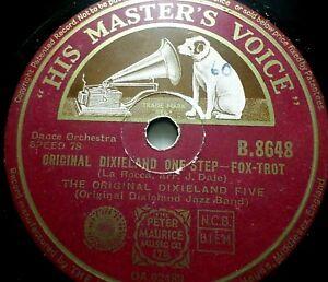 "DIXIELAND FIVE ""Barnyard Blues / Original Dixieland One Step"" HMV 1937 78rpm 10"""