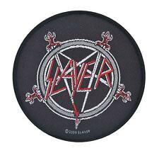 Slayer Pentagram Woven Patch Official Merchandise