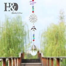 Handmade Crystal Rainbow Suncatcher Hanging Angle Wing Prisms Window Home Decor