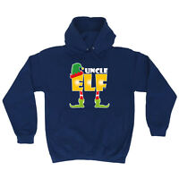 Funny Hoodie Uncle Elf Birthday Joke Humour tee Novelty hooded top HOODY