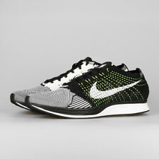 NIKE FLYKNIT RACER  SZ 11   526628 011   VOLT multicolor trainer running shoes