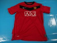 authentic vtg Manchester united 2009 soccer football shirt jersey