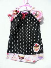 Größe 110 Mädchenkleider im Tunika-Stil aus 100% Baumwolle
