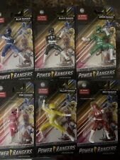 90?s Power Rangers Mini Figures New Complete Set Lot Of (6). All Power Rangers