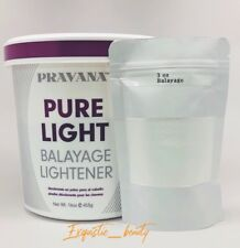 Pravana Pure Light Balayage Lightener 3 Oz -- this enough for past shoulder hair