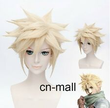 Final Fantasy VII DMMD Virus Trip FF7 Anime Cloud Strife Cosplay costume Wig
