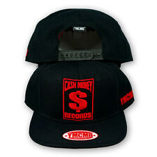 Original YMCMB Snapback Cap Cash Money Records Noir/Rouge