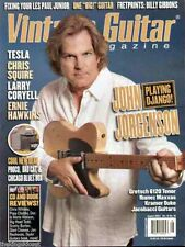 Vintage Guitar Magazine August 2004 John Jorgenson, Billy Gibbons, Les Paul Jr.