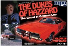 banned 2010 #754 MPC 1/25 Dukes of Hazzard Glow in the dark Ghost of General Lee