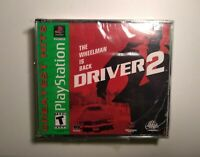 Driver 2 (Sony PlayStation 1, 2000) BRAND NEW FACTORY SEALED