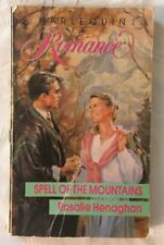 Vintage 1990 Spell of the Mountains Rosalie Henaghan Romance Paperback Book