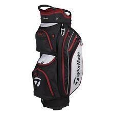 TaylorMade TM18 Cart Lite Bag - Black / Red / White