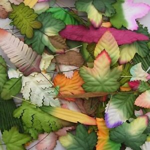 25 MIXED MULBERRY PAPER LEAVES SURPRISE (PACKS WILL VARY )