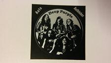Deep Purple English rock band group STICKER Vintage logo music auto aufkleber