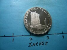 1.3 OZ MINT HOTEL VEGAS CASINO 1967 VINTAGE $5 GAMING SILVER COIN NOT MANY SEEN
