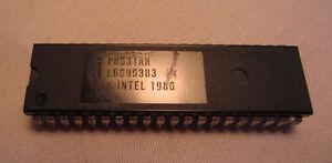 Vintage Intel Copytright 1980 Ic Chip P8031AH L6090383 Processor