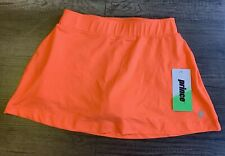 Prince Tennis Women's Match Knit Skort Coral Punch Small