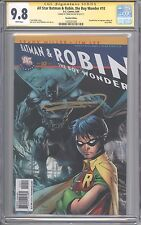 All Star Batman & Robin, the Boy Wonder #10 Recalled Edition CGC SS 9.8 Miller