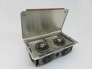 Kenyon Marine Homestrand Model 406 Alcohol or Electric 2 Burner Stove