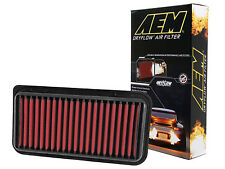 AEM 28-20252 STOCK REPLACEMENT WASHABLE REUSABLE PANEL AIR FILTER [MADE IN USA]