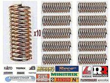 SET nr.10 MICRO MOLLE in RAME MISURA mm.4x1 circa per GANCI NEM e MOTORI SCALA-N