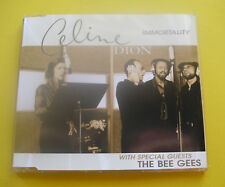 "CD "" CELINE DION & BEE GEES - IMMORTALITY "" SINGLE / 4 SONGS (MY HEART WILL GO)"