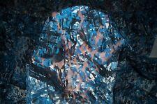 Blue Floral Stretch Lace #61 Nylon Lycra Spandex Apparel Fabric BTY