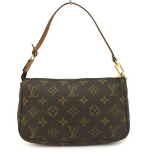 Louis Vuitton Monogram Pochette Accessories Pouch Hand Bag /62960