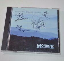 Monroe Crossing Across The Blue Mountains Autograph CD